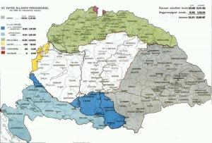 A maradék Magyarország - elveszett a terület kétharmada