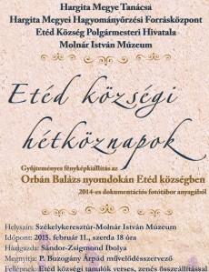A kiállításra invitáló plakát