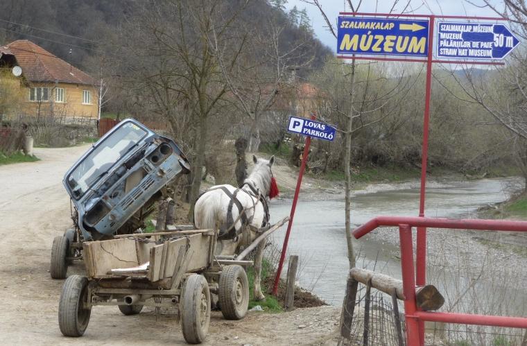 Lovas parkoló Kőrispatakon