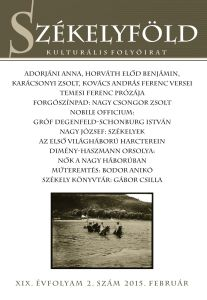 A Székelyföld februári számának címlapja