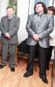 Ambrus Lajos és Molnos Zoltán a megnyitóünnepségen