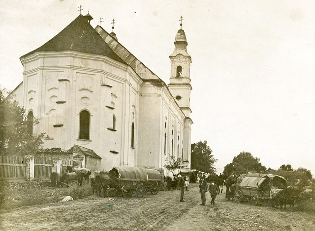 A kegytemplom az 1930-as években (Az Országos Széchenyi Könyvtár gyűjteményéből)