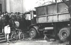 A teherautó