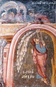 Júdás felakasztja magát (freskó, Macedónia)