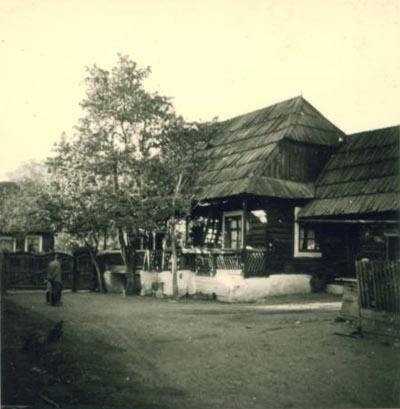 A püspök szülőháza Csíkszentdomokoson