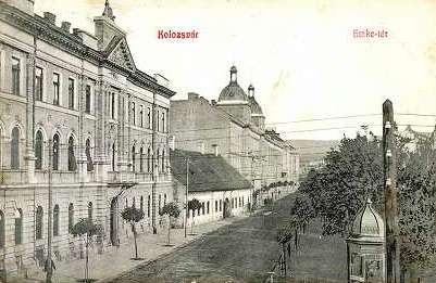 Az EMKE egykori székháza (a felvétel 1907-ben készült)