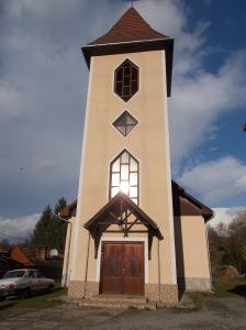 A nyolcvanas évek végére elkészült templom