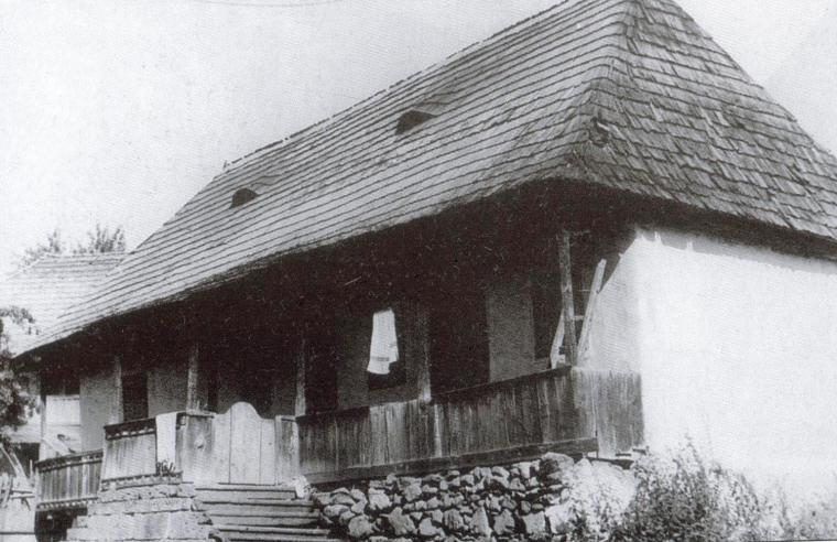 Alszegi Simó Ferenc háza 1970 körül