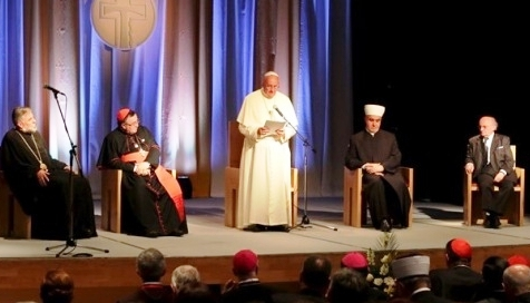 Négy egyház vezetőivel