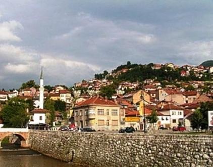 Szarajevói látkép