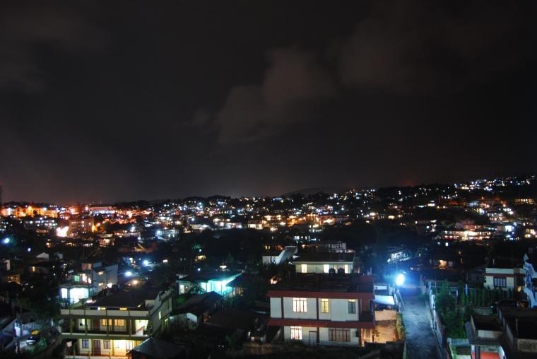 Éjszaka Shillongban