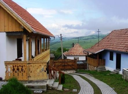 A ház udvara