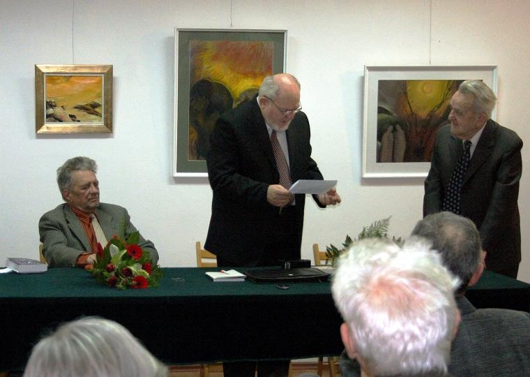 Egy 2009-ben készült felvételen: Jánosházy György, Bölöni Domokos és Nagy Pál
