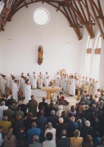 A Magyarok Nagyasszonya templom szentelése (2004)