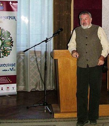 Kolumbán Gábor fizikus, egyetemi oktató, bivalytartó gazda