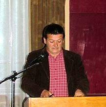 Sántha Attila költő, újságíró, lapszerkesztő