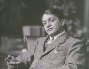 Ady Endre 1909 körül (Fotó a PIM gyűjteményéből)