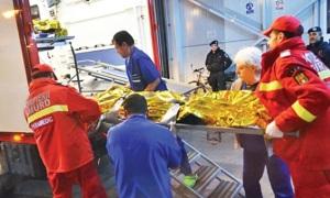 A kórházakban ápolt sérültek közül 46-an közvetlen életveszélyben vannak. (Foto: enational.ro)