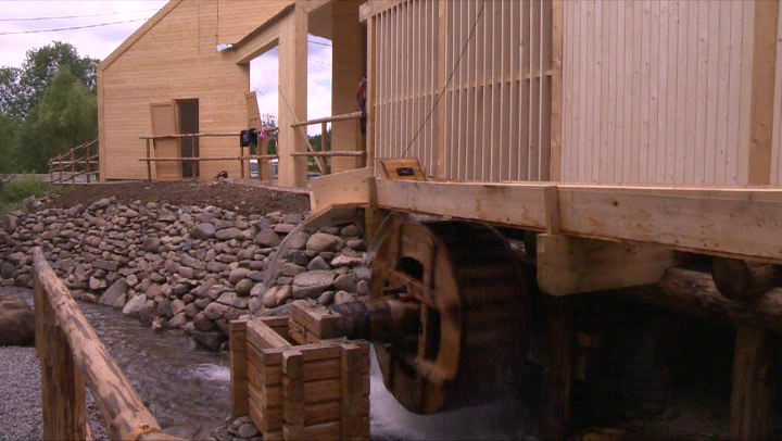 Ivóban 2015 nyarán avatták fel a pályázati pénzből rekontruáli vízimalmot