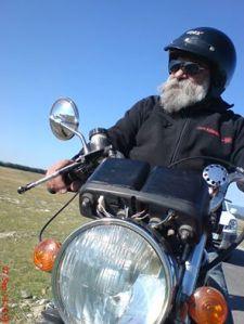 """Az """"öreg motoros"""" Gyöngyössy János"""