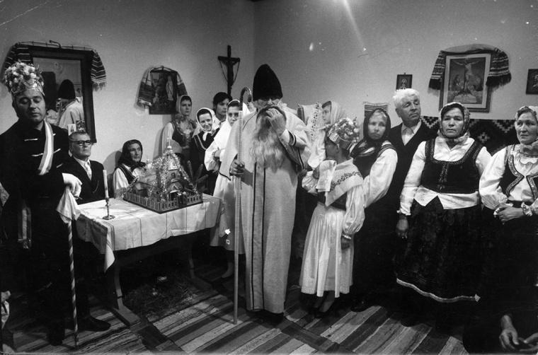 Az utolsó bukovinai csobánolás, 1940 decemberében - Kóka Rozália archívumából