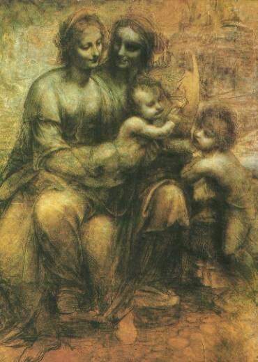 A Madonna a Gyermekkel, Szent Annával és Keresztelő Szent Jánossal