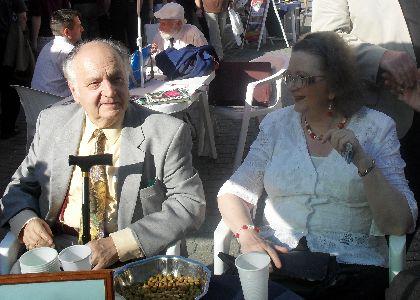 Jókai Annával a 2011-es Könyvhéten