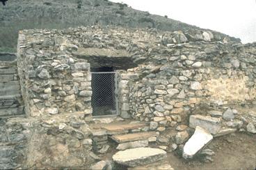 A börtön romjai Phlippiben, ahol Pál raboskodott