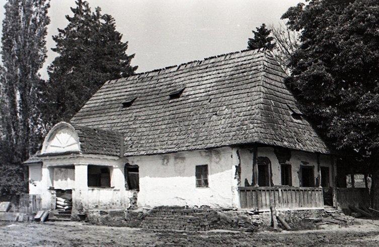 A Gidófalvy-kúria, Albis, 1972 (A Székely Nemzeti Múzeum gyűjteményében)