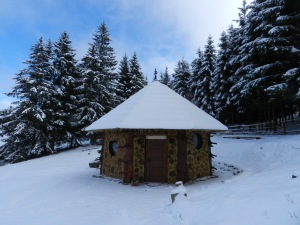 A kápolna télen (Fotó: Sepsiszéki Nagy Balázs)