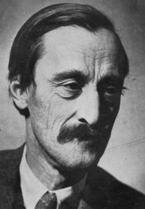 Kós Károly portréja, 1930 körül