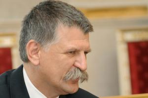 Kövér László, az Országgyűlés elnüke (Fotó: Europress/AFP