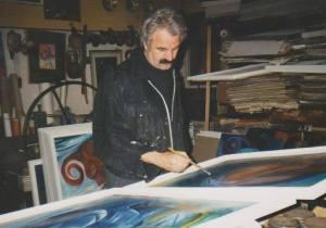 Molnár Dénes képzőművész, költő