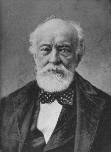 Kossuth egy 1890 körül készült felvételen