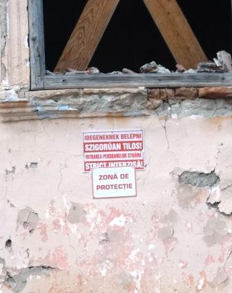 Műemlékvédelmi gondoskodás - veszély, ami esetleg elhárító