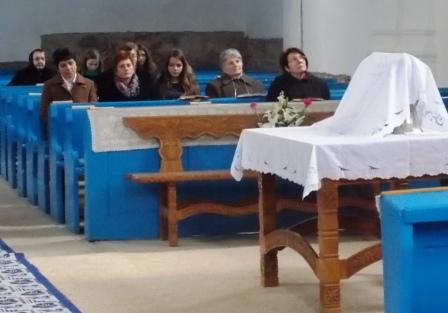 Az Úr Asztalát megterítették