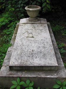 Jakab Ödön sírja a Kerepesi-temetőben