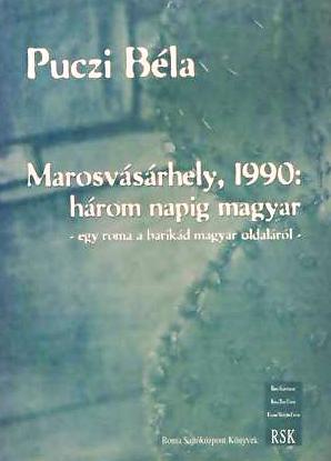 A Puczi Béla emlékiratait tartalmazó kötet borítója - tisztességes helytállást tanúsító dokumentum
