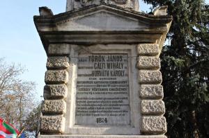 A Székely Vértanúk emlékműve Marosvásárhelyen