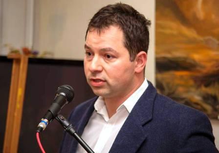 Tamás György jogász, műgyűjtő, a festő barátja