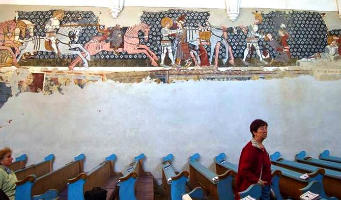 ...és az északi fal, a Szent László legendáriummal