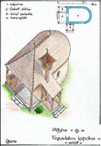 Az új Fogadalmi Kápolna látványterve _ Gyöngyössy János munkája