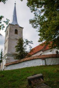 Az énlaki unitárius templom (Fotó: Szabó Károly)