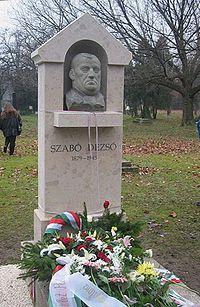 Szabón Dezső sírja a Kerepesi-temetőben - 24-1-16 (Forrás: Wikipédia)