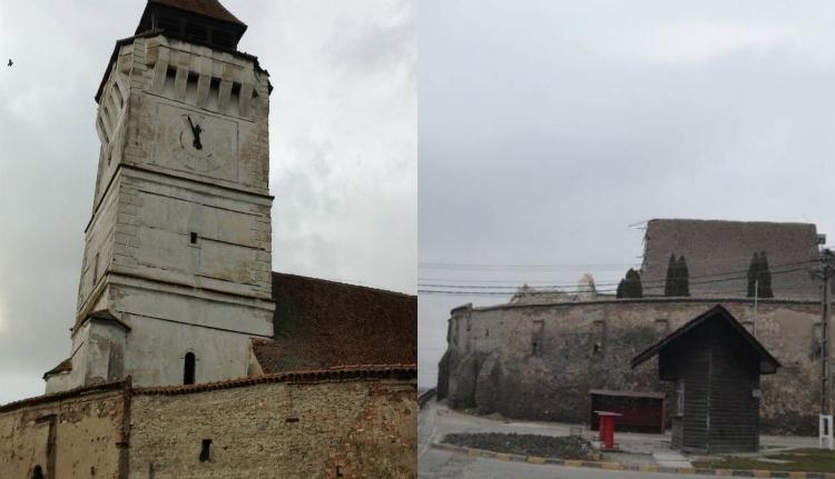 a szászveresmarti templom torny és annyak hült helye (Forrás: www.foter.ro)