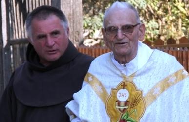 Böjte Csaba és Antal atya