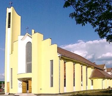 A székelyudvarhelyi Kis Szent Teréz Plébániatemplom