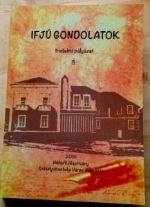 A kötet borítója (Fotó: Szabó Károly)