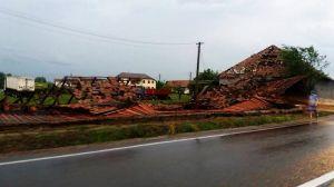Kutyfalván a vihar után (A Marosvásárhelyi Rádió felvétele)