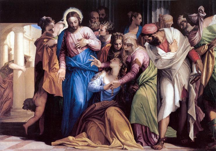 Paolo Veronese: Mária Magdolna megtérése (1547, olaj)